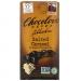 Шоколад соленая карамель с шоколадной начинкой в темном шоколаде, 55% какао, 90 грамм Chocolove фото №1