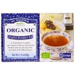 Органический черный чай English Breakfast, 25 пакетиков