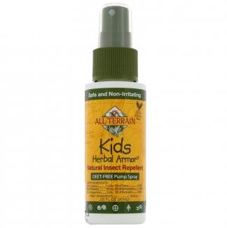 Натуральное средство от насекомых для детей, Kids Herbal Armor 60 мл фото №1