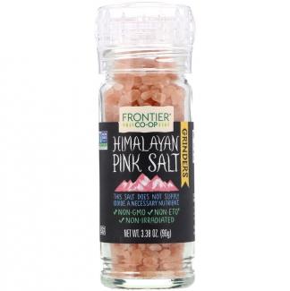 Himalania Pink Salt, Гималайская розовая соль в мельнице 96 грамм. фото №1