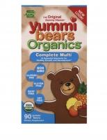 Органический мультивитаминный комплекс для детей Yummi Bears 90шт