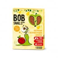 """Натуральные яблочно-грушевые конфеты без сахара """"Улитка Боб"""" (пастила) 120г"""