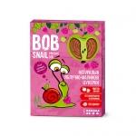 """Натуральные яблочно-малиновые конфеты без сахара """"Улитка Боб"""" (пастила) 60 грамм"""