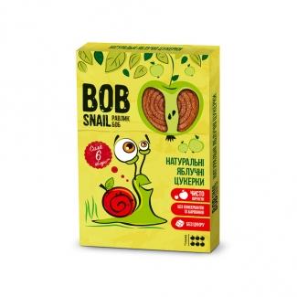 """Натуральные яблочные  конфеты без сахара """"Улитка Боб"""" 60г фото №1"""