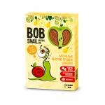 """Натуральные яблочно-грушевые конфеты без сахара """"Улитка Боб"""" (пастила) 60 грамм"""