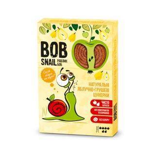 """Натуральные яблочно-грушевые конфеты без сахара """"Улитка Боб"""" (пастила) 60 грамм фото №1"""