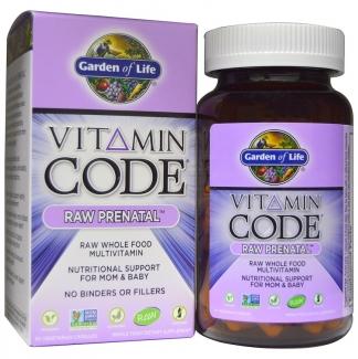 Сырые витамины Vitamin Code Raw Prenatal, 90 капсул фото №1