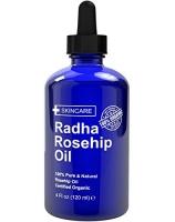 Radha Beauty Rosehip Oil 100% Organic Масло шиповника холодного отжима Органик 120 мл