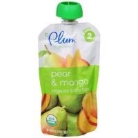 Organic Baby Food pear and mango, Органическое пюре из груши и манго. С 6 месяцев. 113 грамм