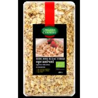 Органические овсяные хлопья (крупа овсяная плющеная) 400 грамм