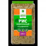 Рис коричневый цельнозерновой нешлифованный, 400г