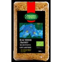 Органические золотые семена льна 300 грм