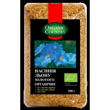 Органические золотые семена льна 300 грм фото №1