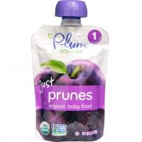 Organic Baby Food just prunes, Органическое пюре из сливы. Первый прикорм .99 грамм