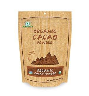 Organic Cacao Powder, Органический порошок какао. 227 грамм фото №1
