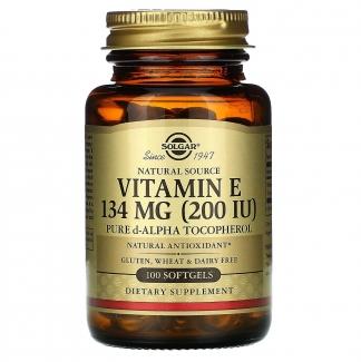 Витамин Е 134 mg, 100 капсул фото №1