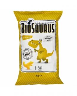 Органические безглютеновые кукурузные снеки Динозаврики с сыром 50 грамм фото №1