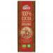 Шоколад черный органический без сахара 100% какао, 25 грамм Chocolates Solé фото №1