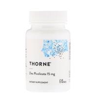 Пиколинат цинка, 15 мг, 60 капсул