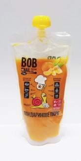 Натуральное пюре из мандаринов без сахара, 400 грамм фото №1