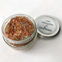 Гималайская розовая соль с лавандой 100 грамм