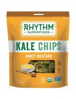 Raw Kale Chips Honey Mustard Чипсы из кейла в горчично-медовом соусе 57 грамм
