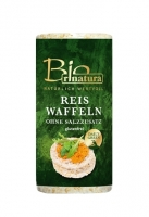 Органические рисовые хлебцы без сахара и соли 100 грамм