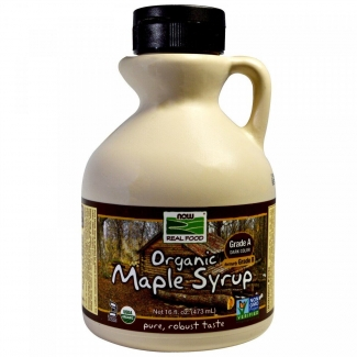 Кленовый сироп, Maple Syrup, Now Foods, 473 мл фото №1