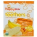Organic Teethers, вафли для мягкого прорезывания зубов у малышей, батат и банан, 12 пакетиков по 4 г Happy BABY фото №1