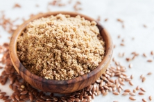 Органическая мука из золотистого льняного семени  100 грамм