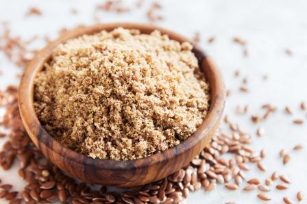 Органическая мука из золотистого льняного семени  100 грамм фото №1