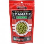 Сухие обжаренные зеленые соевые бобы Эдамаме с морской солью 113 г