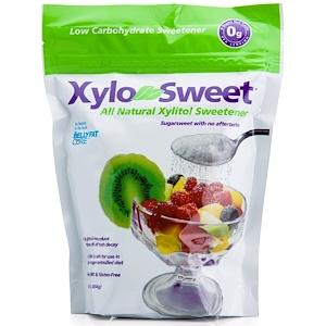 XyloSweet, органический ксилитол (березовый сахар), 454 грамм фото №1