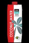 Органическая кокосовая вода без сахара, 1 л