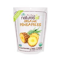 Organic Pineapples, Органический сублимированный ананас. 42,5 грамма