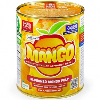Пюре Альфонсо манго без сахара, 850 грамм фото №1