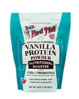 Nutritional Booster Chia & Probiotics Vanilla Protein Powder Ванильный протеин с чиа и пробиотиками 453 грамма