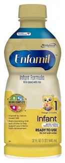 Infant Formula Milk-based with Iron. Жидкая натуральная молочная смесь от 0 до 12 месяцев 946 мл фото №1
