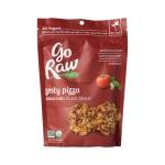 """Zesty pizza sprouted flax Кранчи из пророщенных семян льна, вяленых помидоров и бaзилика, """"Пикантная пицца"""""""