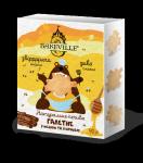 Натуральное галетное печенье с медом и корицей 90г
