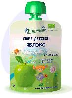Пюре детское яблоко с 4 месяцев 90 грамм