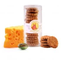 Натуральное сырное печенье цельнозернове  150гр