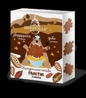 Натуральное галетное печенье с какао 90 грамм