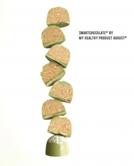 """Набор конфет """"Матча"""" на основе кероба без сахара, 180грамм фото №1"""
