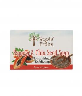 Papaya & Chia Seed Soap Мыло с семенами чиа и папайей 141г фото №1