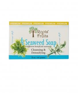 4 Seaweed Soap Очищающее мыло с морскими водорослями 141г фото №1