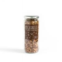 Гранола Choco с черным шоколадом миндалем и фундуком 250 гр