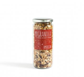 Гранола American с изюмом, грецким орехом и кунжутом 250 гр  фото №1