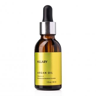 Органическое марокканское аргановое масло холодного отжима Hillary Organic Cold-Pressed Moroccan Argan Oil, 30 мл фото №1