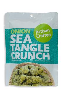 Sea Tangle Crunch Onion Водоросли нори кранчи в луковом кляре 50гр  фото №1